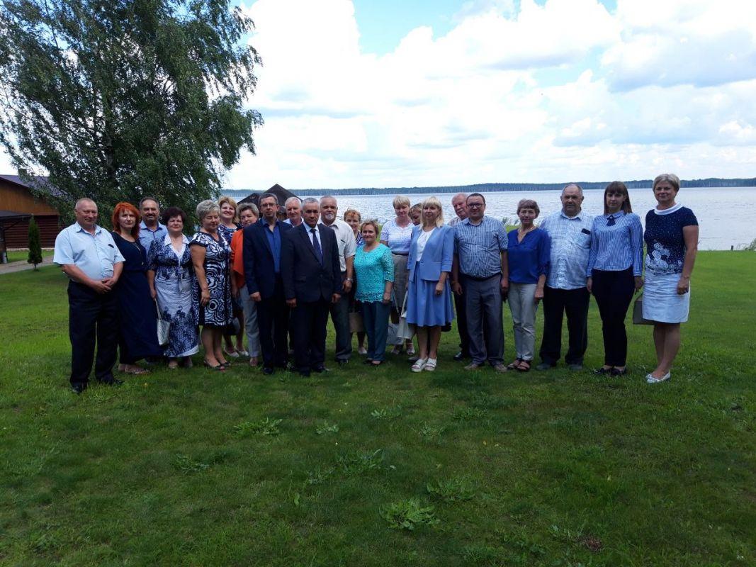 В филиале «Горяны-Агро» ОАО «Полоцкий КХП» состоялось выездное заседание президиума обкома профсоюза