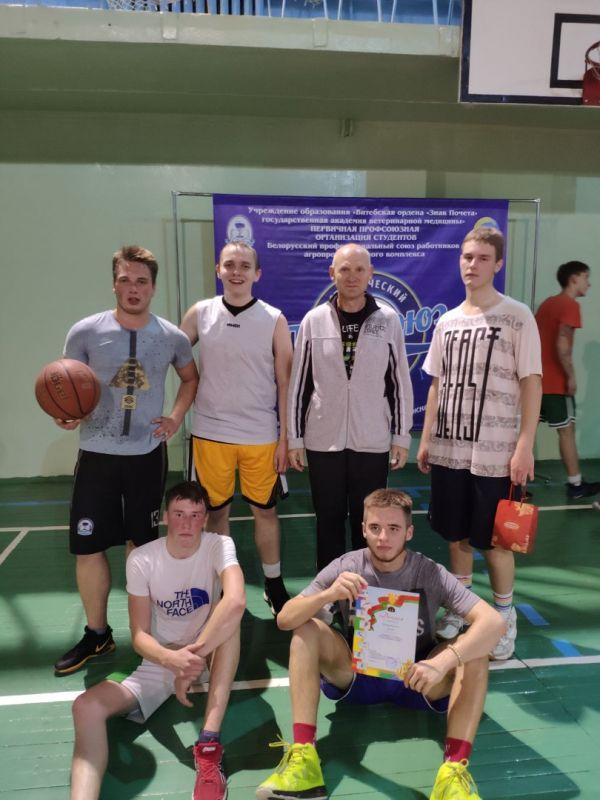 Первенство академии по баскетболу