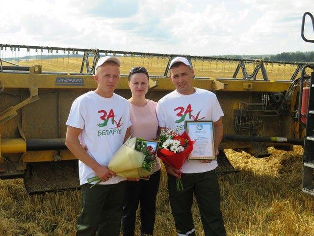 2000 тонн зерна в Лепельском районе!